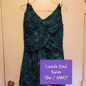 Lands End One Piece Swimsuit!
